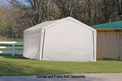 Shelterlogic Canopy Enclosure Kit for SuperMax 12' x 26' (Frame and Canopy Sold Separately)