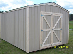 12' x 16' Gable Style Wood Shed Kit