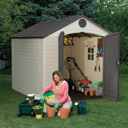 Lifetime 8 x 10 Premium Plastic Storage Shed (1 window)