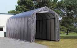 Peak Frame Portable Storage Shed 16x40x16