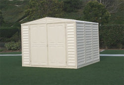 Duramax Duramate 8x8 Vinyl Storage Shed (w/ Foundation Kit)