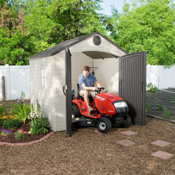 Lifetime 8 x 7.5 Premium Plastic Storage Shed Kit