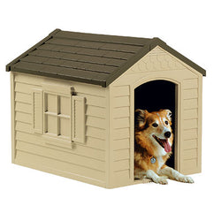 Small Deluxe Plastic Dog House