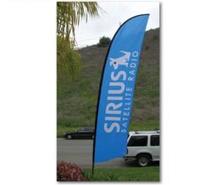 Caravan 15' Banner Flag Kit With Double Sided Print