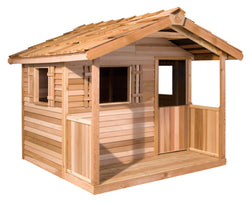 Kids Cedar Playhouse Kits