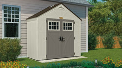 Suncast 206 Cu. Ft. Tremont 8 x 4 Storage Shed