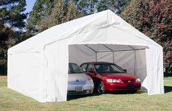 King Canopy 18 x 20 Side Wall Kit with 2 Zippered End Walls, 2 Side Walls w/ Flaps, 50 Ball Bungees