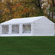 ShelterLogic  20'x20' / 6x6m Party Tent Enclosure Kit with Windows
