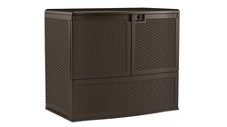 Suncast 195 Gallon Backyard Oasis Storage And Entertaining Station
