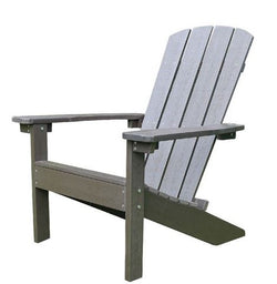 Northbeam Lakeside Faux Wood Adirondack Chair - Espresso