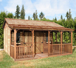 Farm House Cedar Shed Kit - 4 Sizes Available