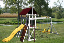 Pinnacle Play Systems Jungle Gym Explorer Classic Vinyl-Clad Play Set