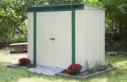 Arrow 6x4 Euro-Lite  Steel Storage Shed