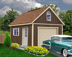 Best Barns Glenwood Garage Kit - 3 sizes available