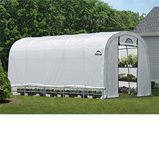Shelterlogic GrowIT Heavy Duty Round Greenhouse 12' x 20' x 8'
