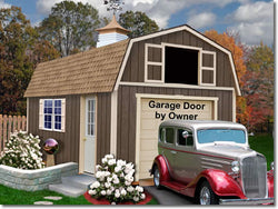 Best Barns Tahoe 12' Wood Garage Kit - 2 Sizes Available