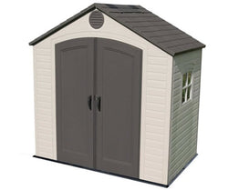 Lifetime 8 x 5 Premium Plastic Utility and Garden Shed with 1 window