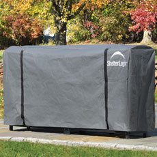 Shelterlogic 8 ft. / 2,4 m Universal Full Length Firewood Rack Cover