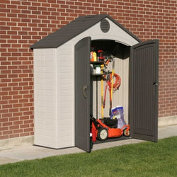Lifetime 8 x 2.5 Premium Plastic Utility and Garden Shed
