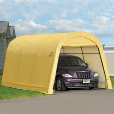 Shelterlogic AutoShelter RoundTop 1015 Portable Garage