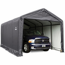 Shelterlogic 12x25x11 ShelterTube Storage Shelter with Cover - 2 Available Colors