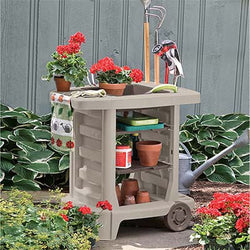 Multipurpose Garden Center on Wheels