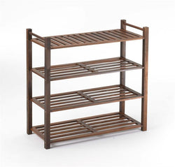 4 Tier Outdoor Shoe Rack 14.8 x 34.56 x 34.5