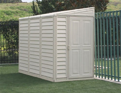 Duramax 4x8 SideMate Shed with Foundation Kit