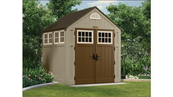Suncast 327 Cu. Ft. Alpine 7x7 Storage Shed