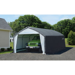 ShelterLogic Peak Frame Garage Shelter (11x16x10)