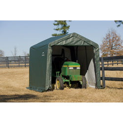 ShelterLogic ShelterCoat 11 x 8 ft. Peak Style Garage - 2 Color Options