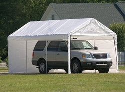 ShelterLogic SuperMax Canopy 2-in-1 Enclosure Kit 10 x 20 ft.
