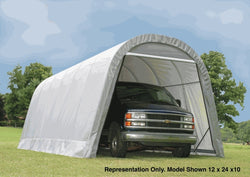 ShelterLogic Round Top Portable Garage Shelter 12x20x8