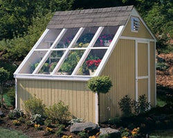 Phoenix Wood Greenhouse Kit with Floor (10x8)