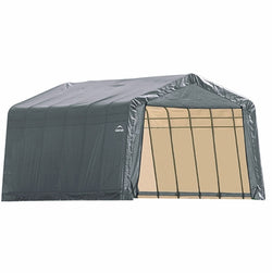 ShelterLogic 12x28x8 Peak Style Shelter