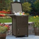 Suncast Deck Cooler With Wicker