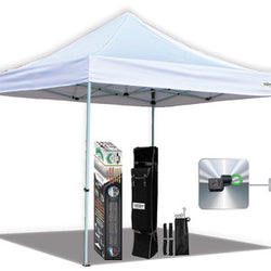 Caravan 10×10 AlumaShade Bigfoot Deluxe Canopy Kit, no walls