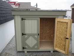Little Cottage Garbage Can Shed Panelized Kit