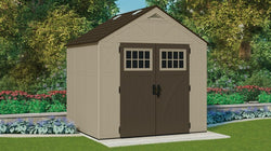 Suncast 378 Cu. Ft. 8 x 7 Storage Shed
