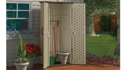 Suncast BMS2000 2 ft. 3/4 in. x 2 ft. 8 in. Resin Vertical Storage Shed