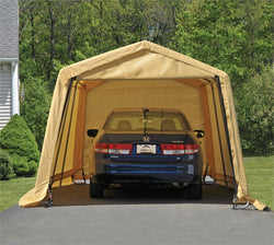 ShelterLogic AutoShelter 10 x 20 ft. - Sandstone Cover
