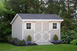 Classic Saltbox Shed PreCut Kit (Sizes 8' x 8' to 12' x 24')