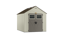 Suncast 574 Cu Ft Tremont 8 x 10 Storage Shed