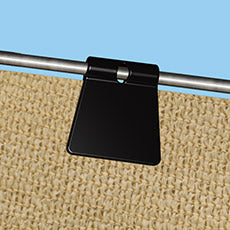 Shelterlogic Shade Cloth Fabric Snap Clips - 25 per polybag