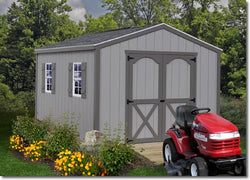 Best Barns Elm 10' Wood Storage Shed Kit