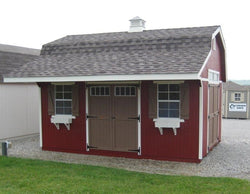Classic Medium Barn Kit with Overhang