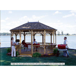 Monterey Oval Gazebo Kit - 2 Sizes Available