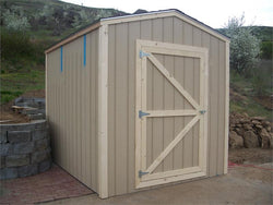 8' x 10' Gable Style Wood Shed Kit