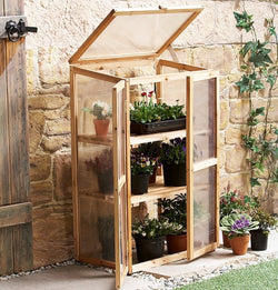 Mini Greenhouse Kit for Indoors or Outdoors