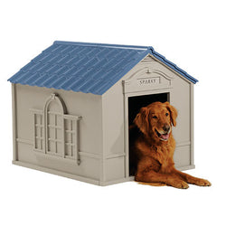 Large Deluxe Plastic Dog House